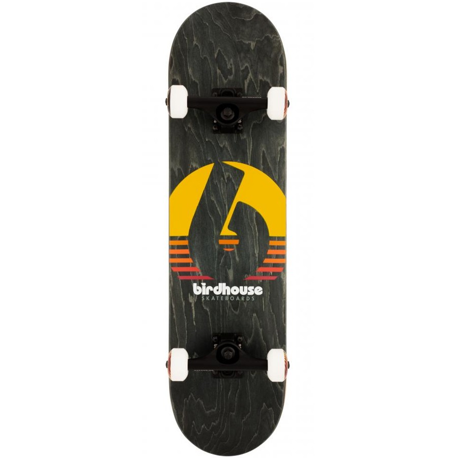 "Birdhouse Stage 3 Sunset 8"" Skateboard - Black"