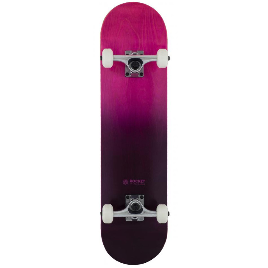 "Rocket Double Dipped 7.75"" Skateboard - Purple"