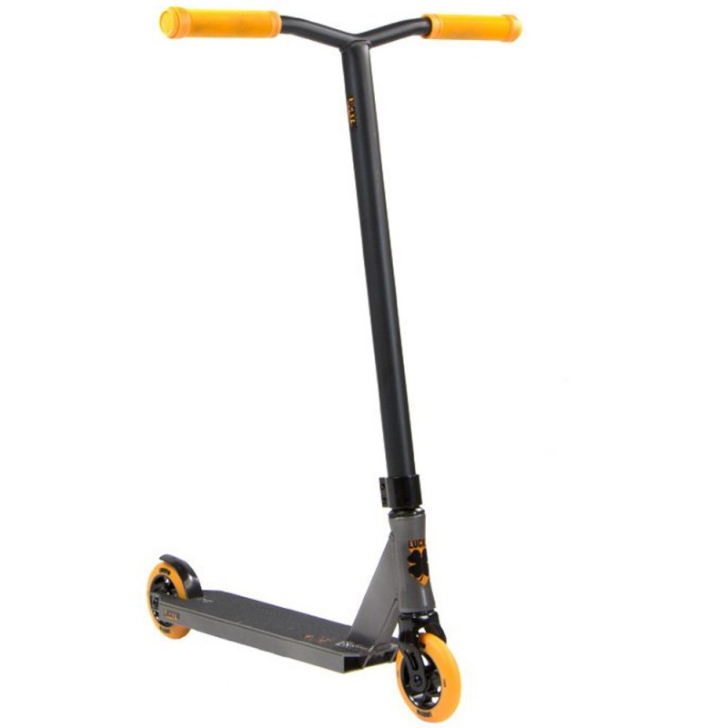 Lucky Crew 2018 Pro Complete Scooter - Grey / Orange