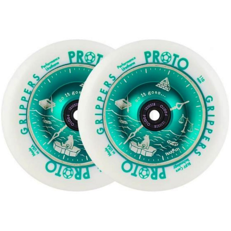2 ks PROTO Parrish Isaacs Time's Up 110mm Wheels