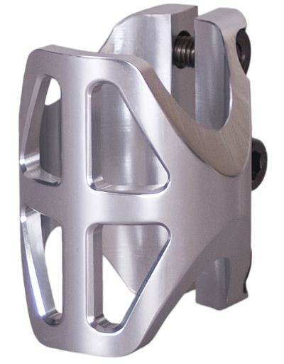 District Triple Light Clamp Standard Silver