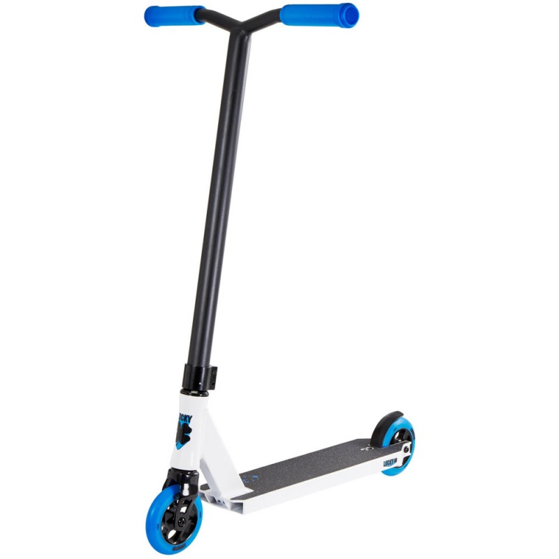 Lucky Crew 2018 Pro Complete Scooter - Blue / White