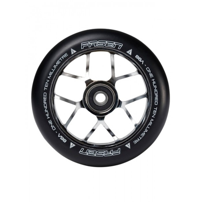 Fasen Jet 110mm Wheel - Chrome