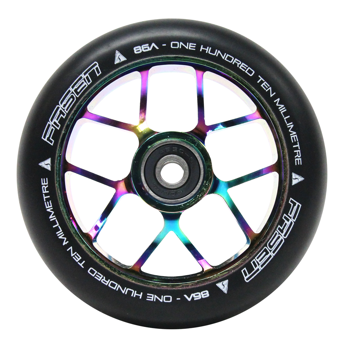 Fasen Jet 110mm Wheel - Oil slick
