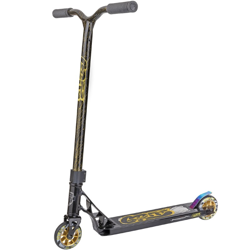 Grit Fluxx MY18 Scooter - Satin Black / Gold