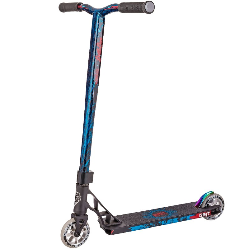 Grit Elite Scooter - Black / Blue Metalic
