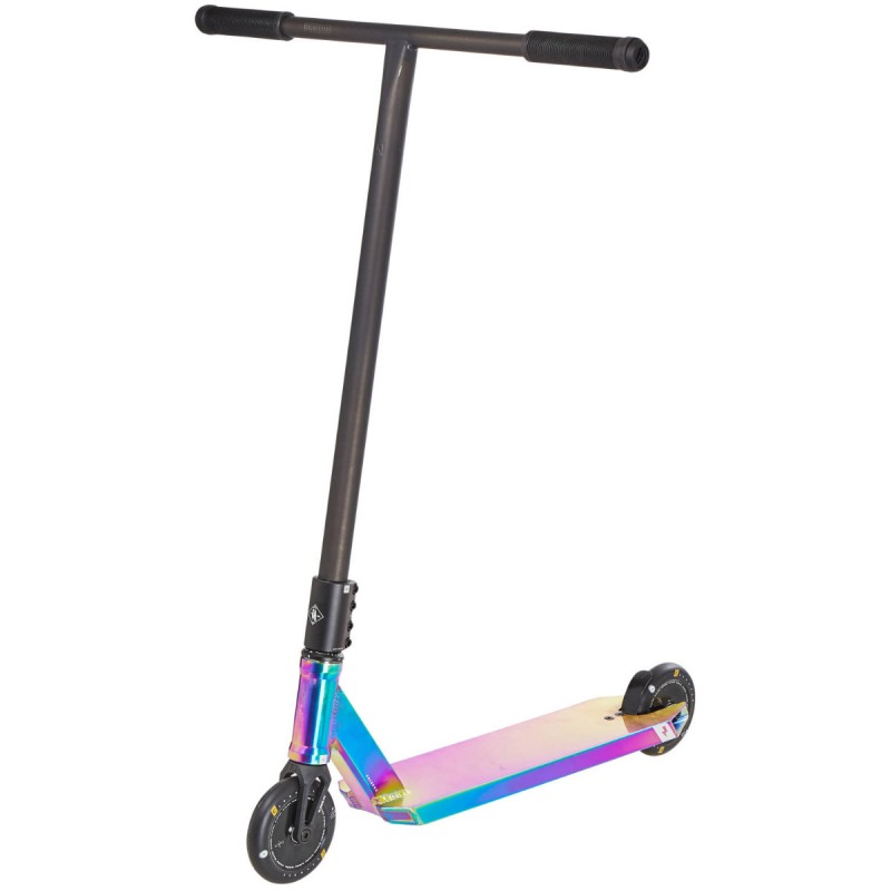 Freestyle kolobežka - UrbanArtt - Primo V3 Black / Rainbow Scooter