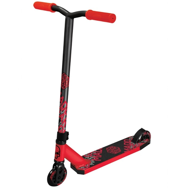Madd Gear Whip Tacker Scooter - Red / Black