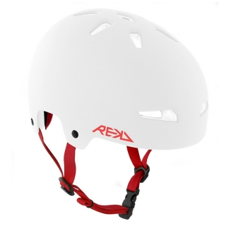 Rekd Elite Helmet - White / Red